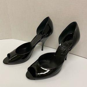 Dior Stiletto Heel Patent Leather Black 6.5